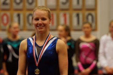 Zahra Bierman regionaal turnkampioen