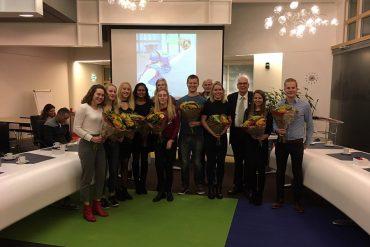 Nederlands Kampioenen gehuldigd in Lisse