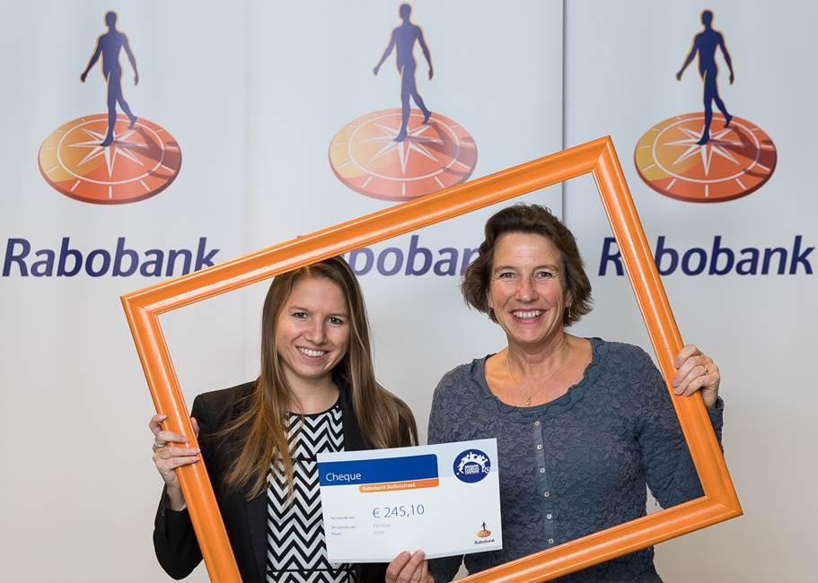 Uitreiking Rabobank clubkas campagne