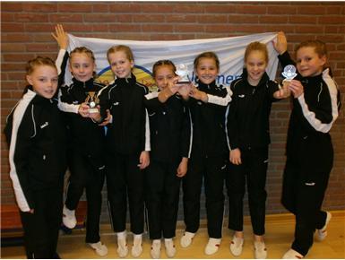 Meisjes 10-12 regiokampioen