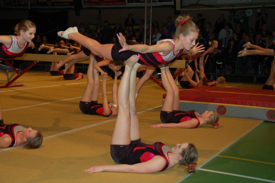 Gymnastiekvereniging sluit jaar af met spetterende Jubileumshow